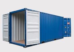 Double Door контейнер