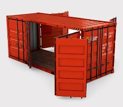Open Side контейнер